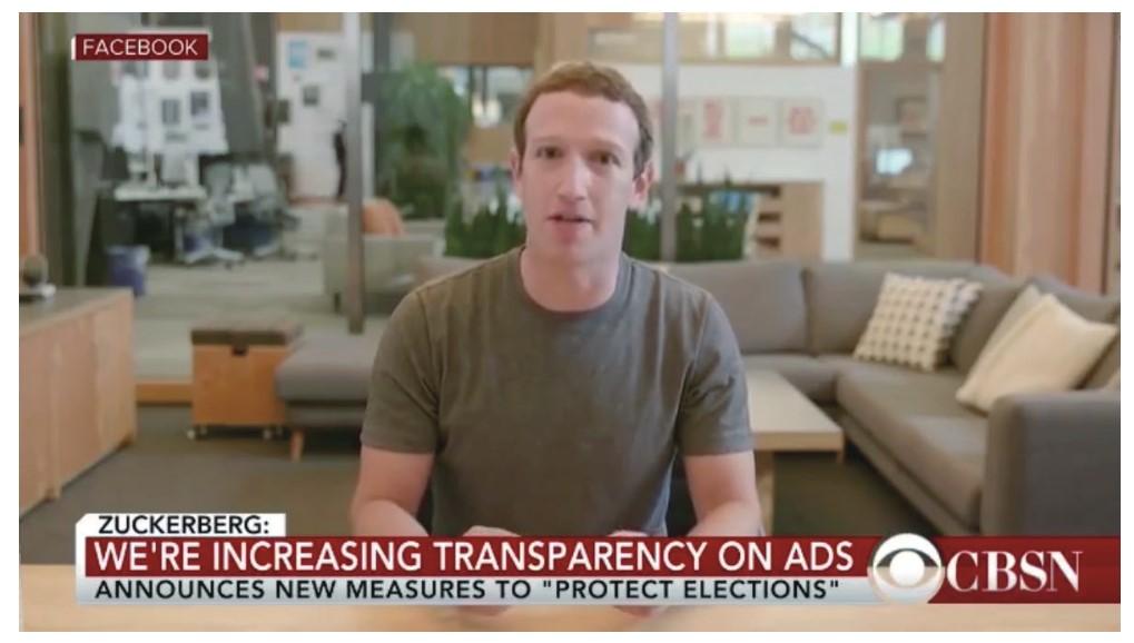 Facebookのマーク・ザッカーバーグCEOのディープフェイクのニュース
