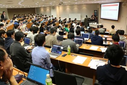 NRI Secure NetWars 2019 会場の様子