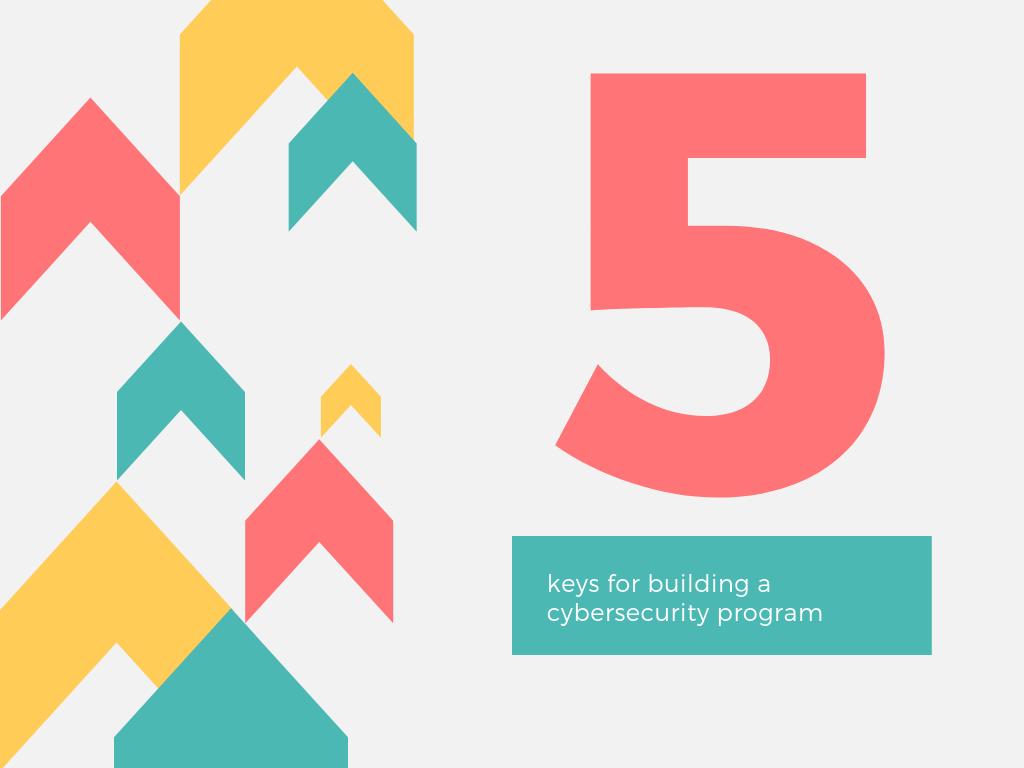 5 keys for building cybersecurity program